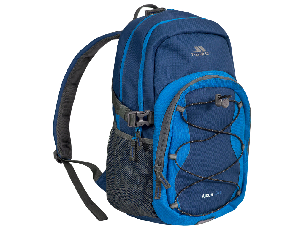 Image of   Trespass Albus - Rygsæk - 30 liter - Electric blue