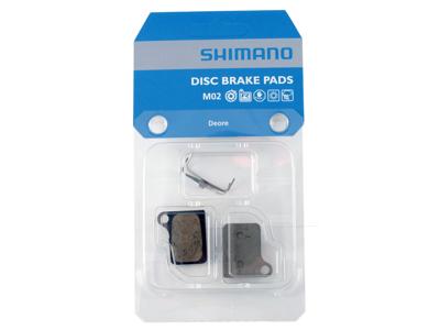 Shimano Deore M555 Bremseklods til disk - Type Resin M02