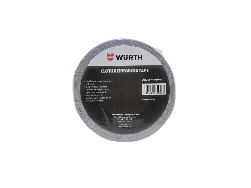 Image of   Gaffatape Würth sølv til allround opgaver