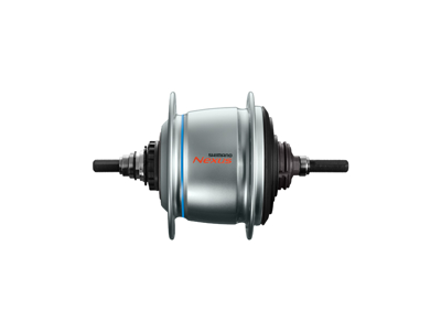 Shimano Nexus Di2 - Gearnav med 8 gear og friløb og til rullebremse - SG-C6060-8R - Sølv