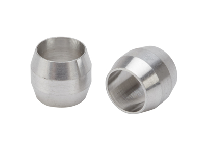 Atredo - Hydraulisk kompressions-ring till kabel - Aluminium - 2 st