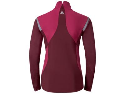 Odlo Zeroweight - Softshell/jersey jakke til dame - Bordeaux