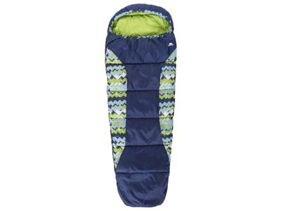 Trespass Bunka - Junior sovsäck - Låg vikt - 175 x 65 x 45 cm - Blå