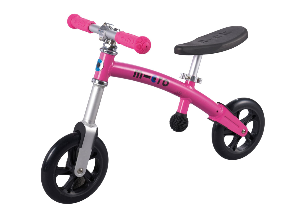Image of   Micro G-Bike Light - Løbecykel - Pink