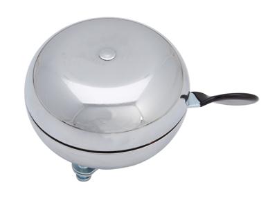 Ringklocka Ding Dong Steel Krom - 80mm i diameter