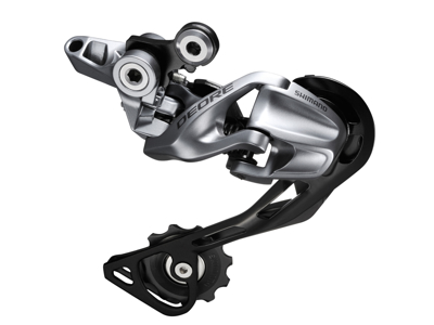 Shimano Deore - bagskifter 3 x 10 gear Shadow RD - Sølv