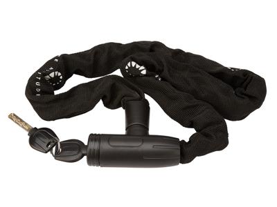 Bike Attitude - Kædelås - 6x900mm - Med nøgle - Sort