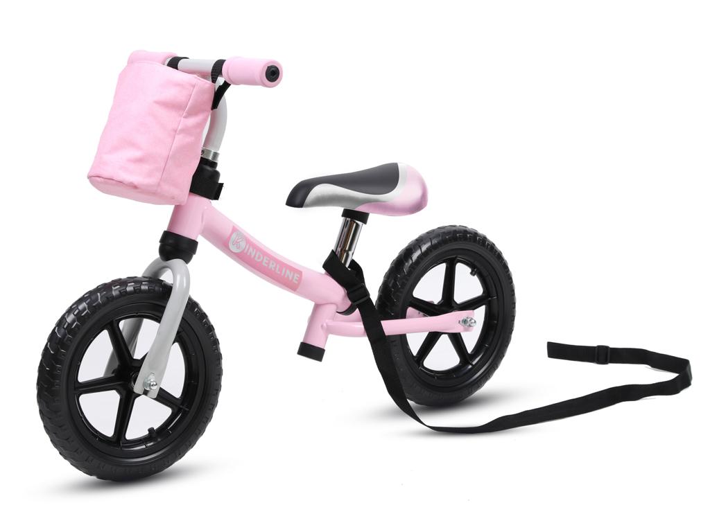 Image of   Kinderline - Løbecykel - Med EVA foam dæk - Pink