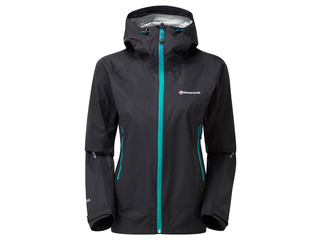 Image of   Montane Womens Atomic Jacket - Skaljakke Dame - Sort - 36