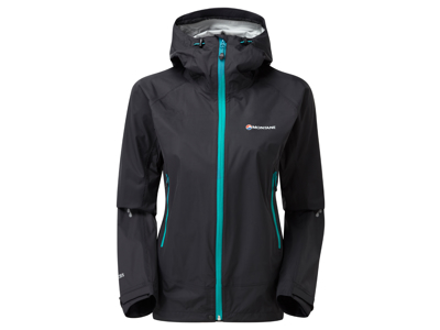 Montane Womens Atomic Jacket - Skaljakke Dame - Sort