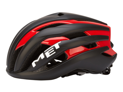 Met Trenta - Cykelhjelm - Sort/rød - Str. 56-58 cm