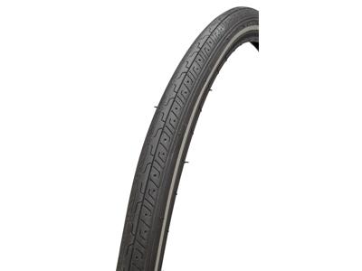 Atredo dæk - 2.5 mm punkteringsbeskyttelse - Str.700x28C(28-622) - Sort/refleks