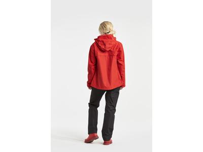 Didriksons Grand Womens Jacket - Dame regnjakke - Rød