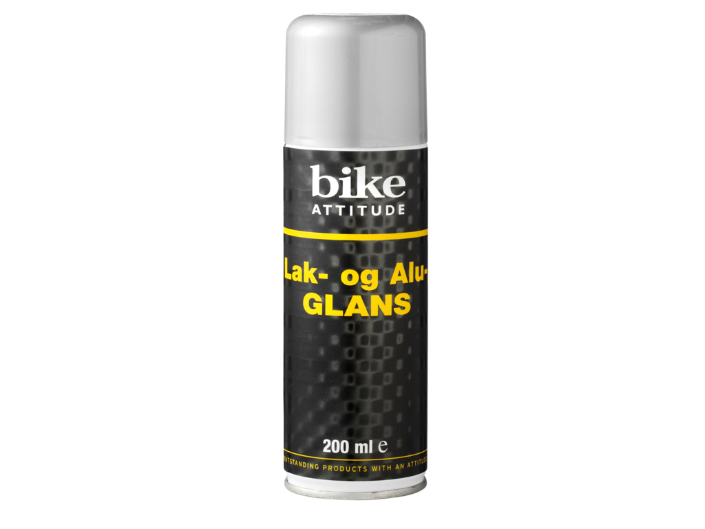 Bike Attitude - Lak & Alu glans spray - 200 ml