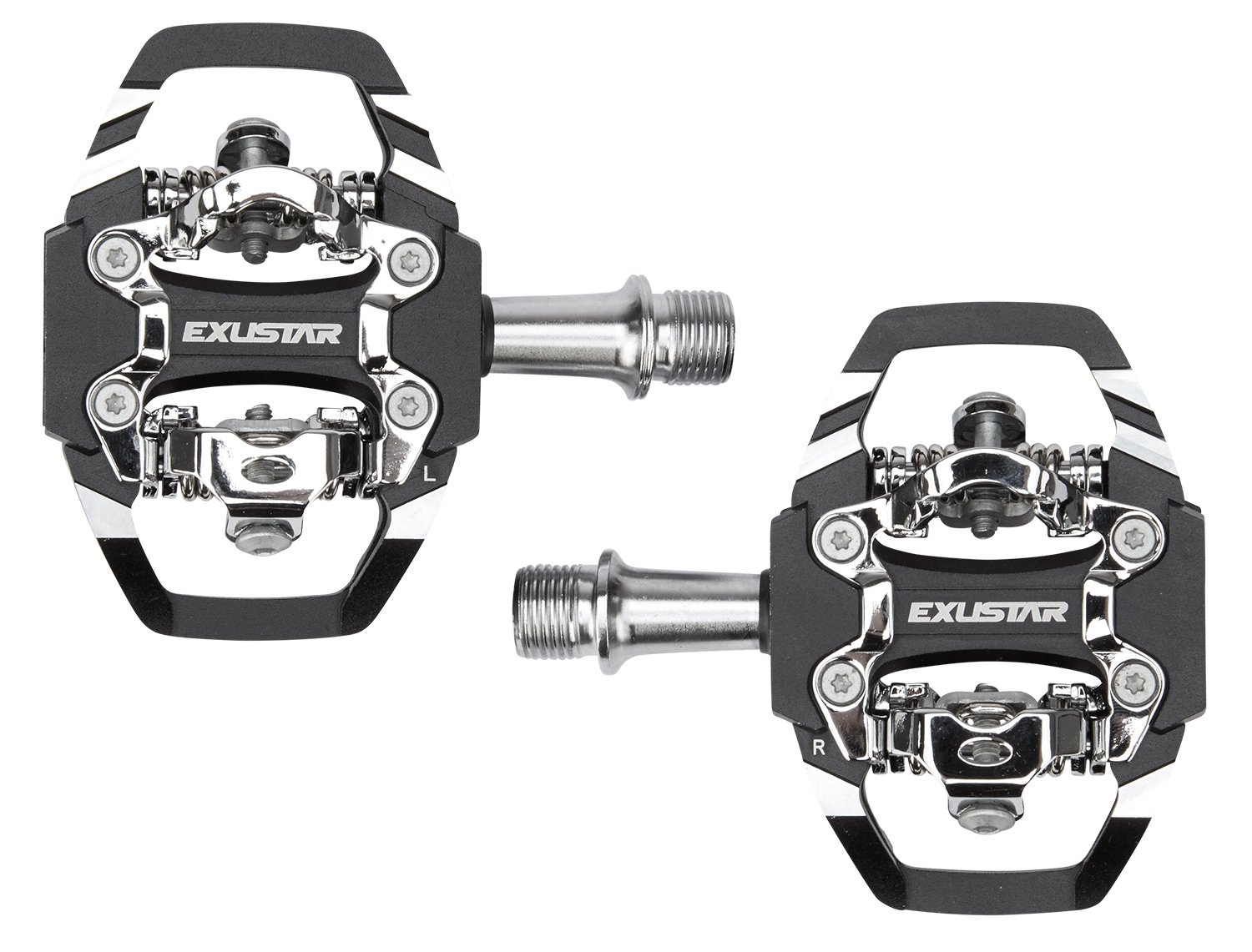 Exustar Pedaler Trail SPD til MTB - Model PM228 | Pedals