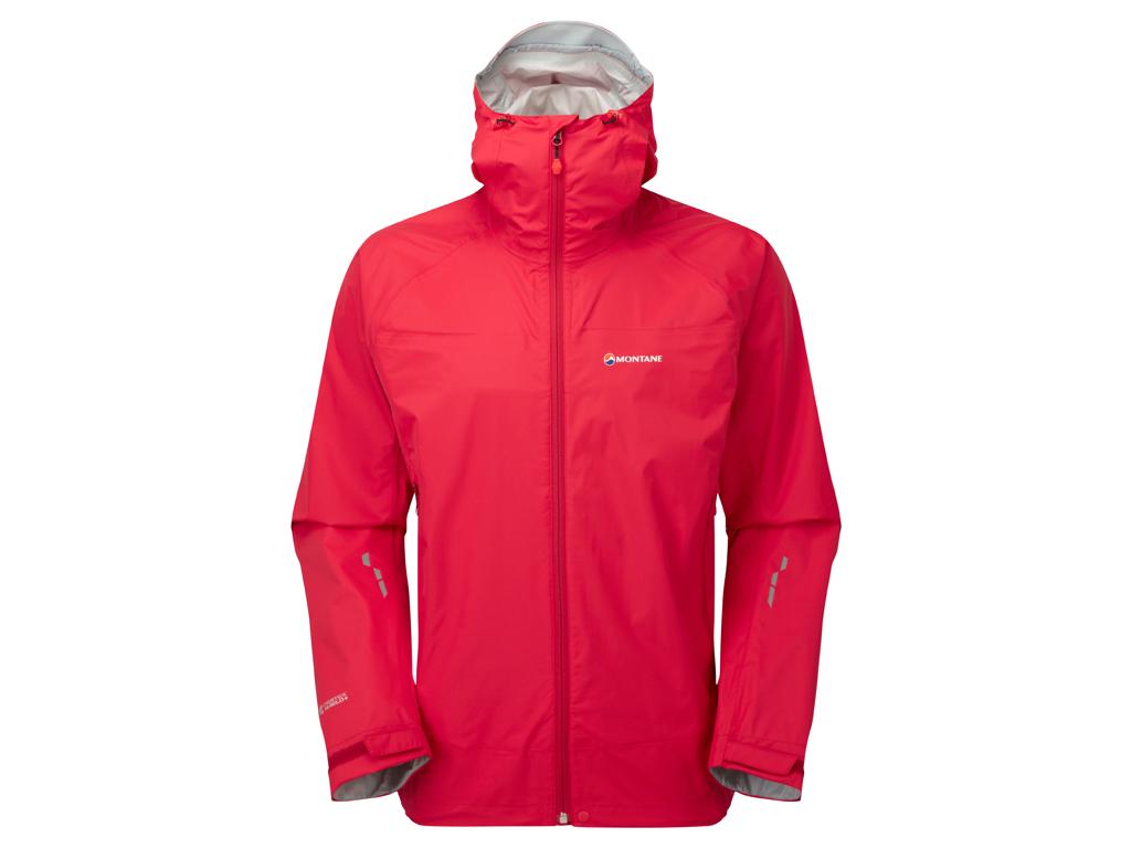 Montane Atomic Jacket - Vandtæt skaljakke - Herre - Rød - Str. M thumbnail