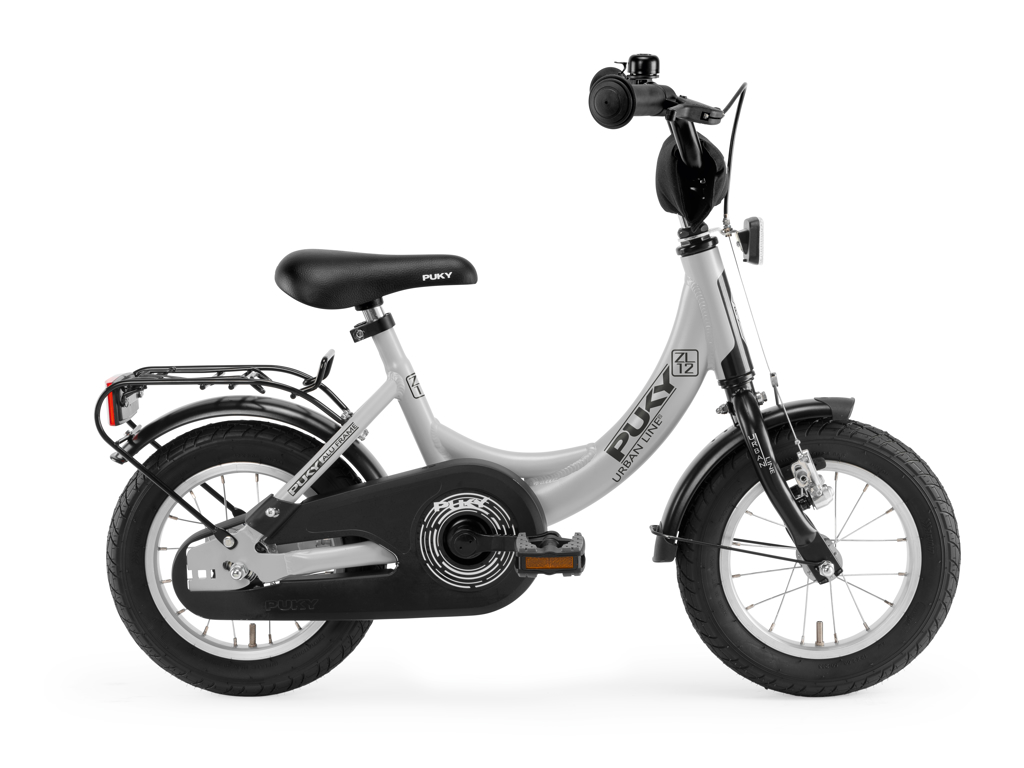 """Billede af Puky ZL 12 - Børnecykel 12"""" i alu - Grå/sort"""