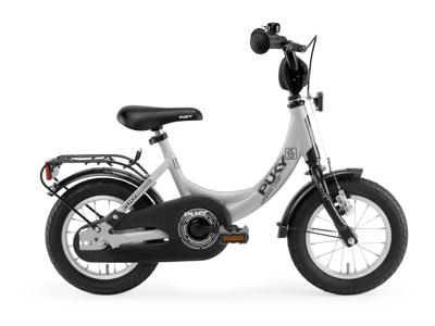 "Puky ZL 12 - Børnecykel 12"" i alu - Grå/sort"