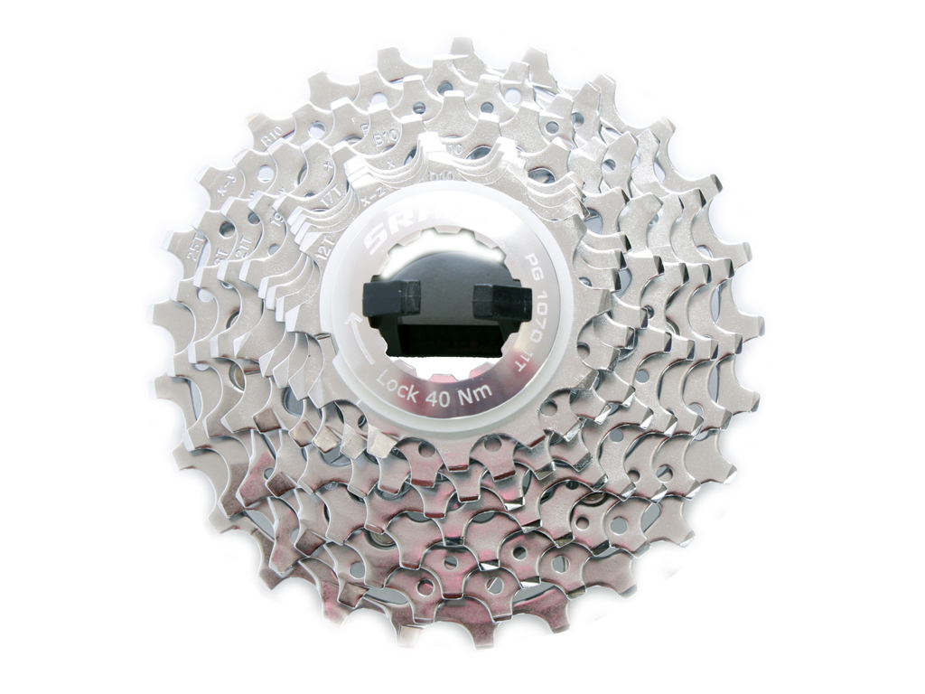 Kassette 10 gear 11-25 tands Sram PG-1070 Road thumbnail