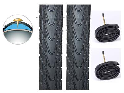 2 dæk og slanger 26x1,75 Panaracer Tourguard Plus - 4,5mm gummi indlæg