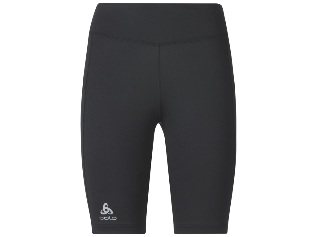 Odlo - Sliq BL Bottom short - Korte løbetights - Dame - Sort thumbnail