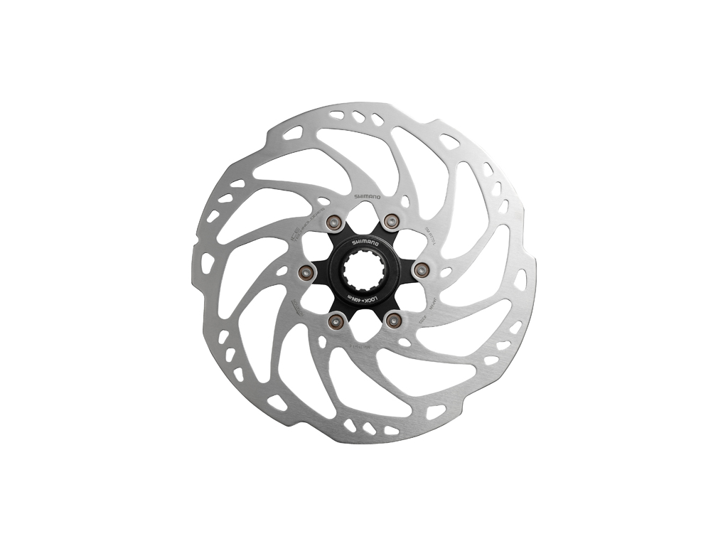 Image of   Shimano SLX - Rotor til skivebremser 203mm til center lock- Ice Tech