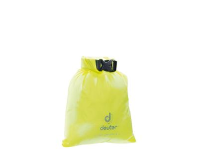 Deuter Light Drypack 1 - Vandtæt pakpose 1 liter - Neon