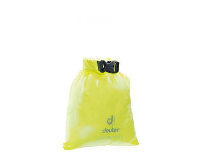 Deuter Light Drypack 1 - Vattentät packpåse 1 liter - Neon