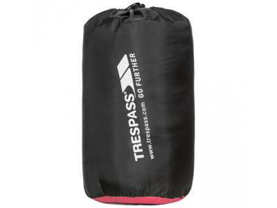 Trespass Envelope sovepose - 3 sæsoner - 180 x 70 cm - Sort