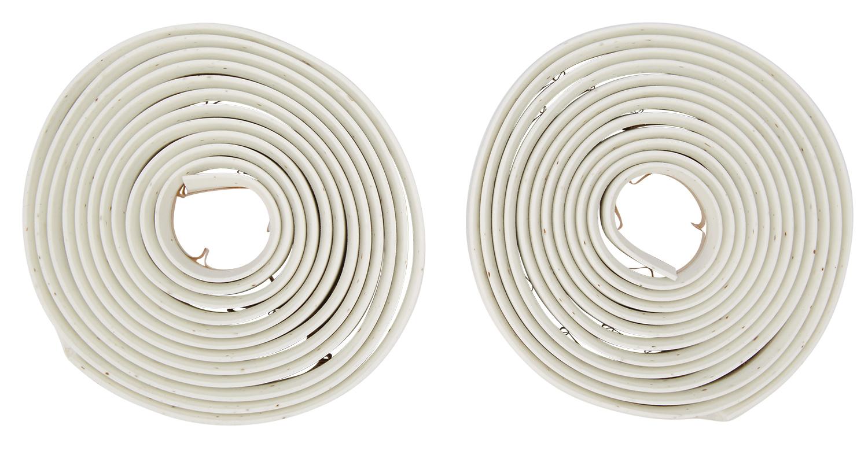 Atredo - Styrbånd - Syntetisk - Kork - Hvid   Bar tape