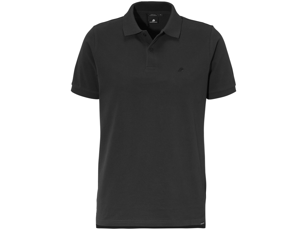 Didriksons William Mens Piké - Poloshirt - Sort - Str. XXL thumbnail