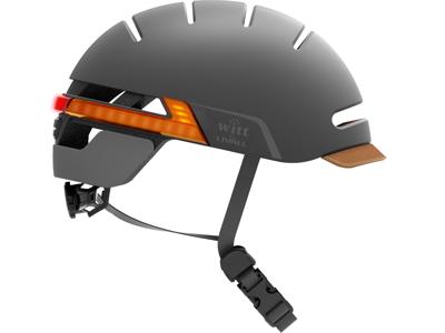Witt by Livall -  Interactive Cykelhjelm med lys, blinklys og højtaler - Graphite black