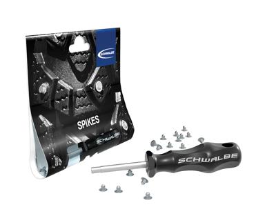 Schwalbe pigdæk monteringsværktøj - Inklusiv 50 stk. pigge