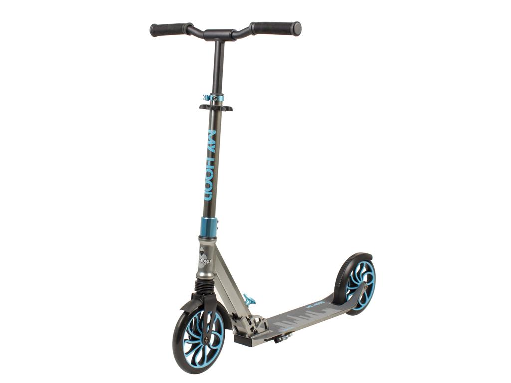 Image of   My Hood Urban Flex 200 - Løbehjul til børn og voksne - Grå/Blå
