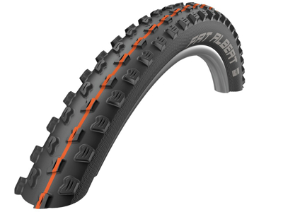 Schwalbe Fat Albert Front - Addix soft Evolution Line - TL-Easy Foldedæk - 27,5x2,35