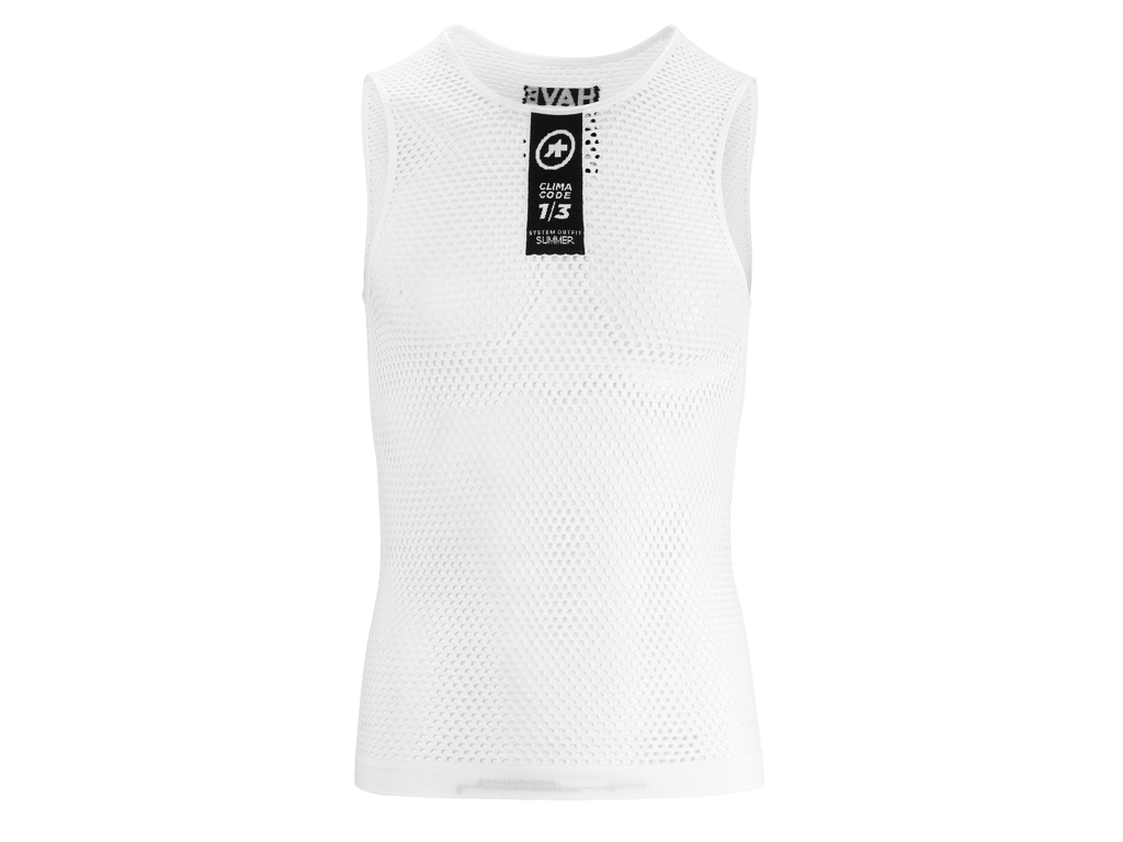 Image of   Assos Skinfoil NS Summer Base Layer - Svedundertrøje u. ærme - Hvid - Str. II