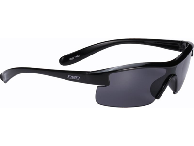 BBB Kids - Cykelbrille til barn - Mørke linser - Sort