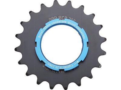 """BBB - Gearhjul til E-bike - 3/32"""" 2,5mm - Stål - Sort"""