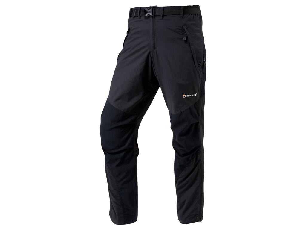 Montane Terra Pants Reg - Vandrerbukser Mand - Sort - XX-Large thumbnail