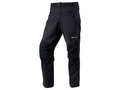 Montane Terra Pants Reg - Vandrerbukser Mand - Sort - Medium