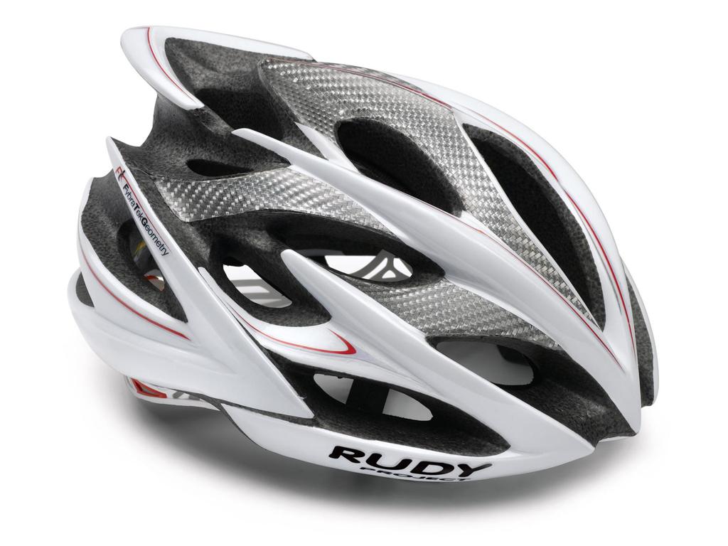 Image of   Rudy Project Windmax - Cykelhjelm Str. 54-58 cm - Hvid/Sølv