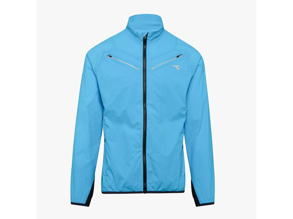 Diadora - Luminex Wind Jacket - Løbejakke - Herre - Turkis - Str. XL thumbnail