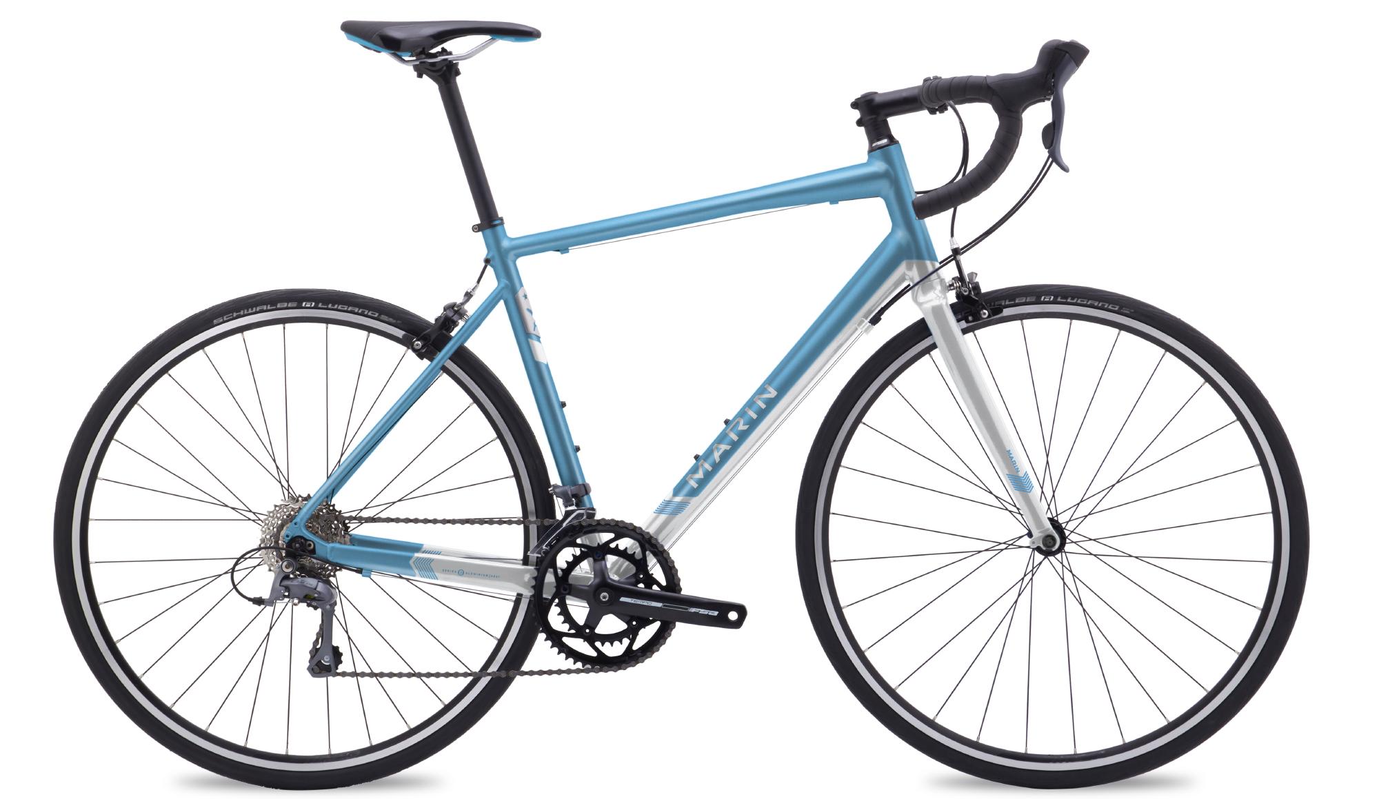 Marin Ravenna - Dame enduro racercykel - Matblå/grå | City-cykler