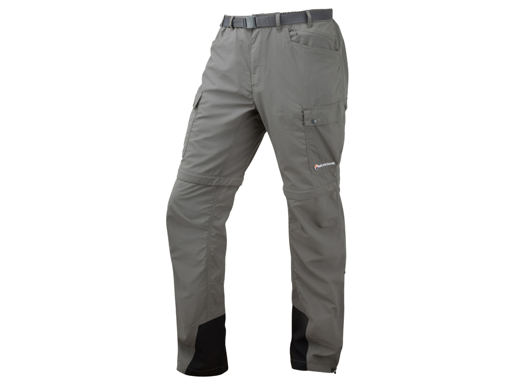 Image of   Montane Terra GT Converts - Zip-off bukser Mand - Grå - Medium