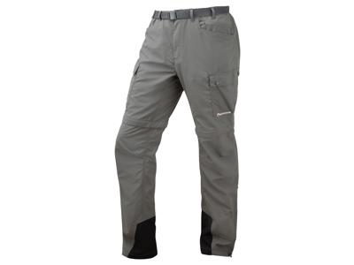 Montane Terra GT Converts - Zip-off bukser Mand - Grå - Small
