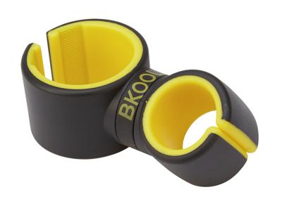 BKOOL Mobilholder - Styrmontering - Sort/gul