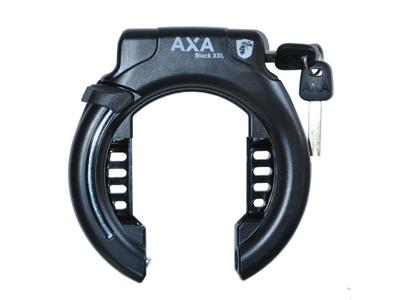 AXA - Block XXL - Ringlås u/bolte - Sort - Ekstra bred