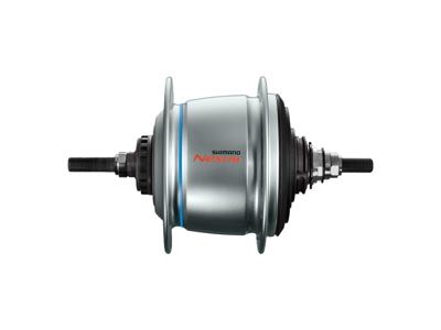 Shimano Nexus Di2 - Gearnav med 8 gear og friløb og til rullebremse - SG-C6061-8R - Sølv