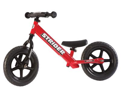 Strider Sport - Løbecykel - Rød