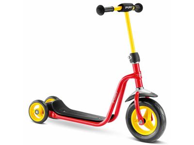 Puky - R 1 - Trehjulad sparkcykel till barn - Röd